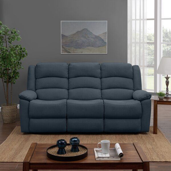 Dashing Romanowski Reclining Sofa by Red Barrel Studio by Red Barrel Studio