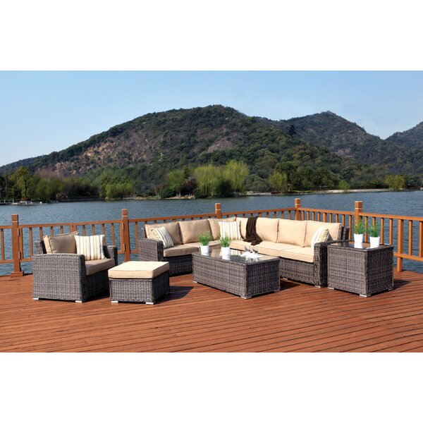 Bay Shore Deep Seating Group with Cushions by Woodard