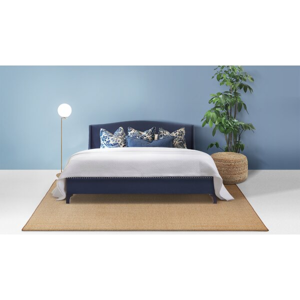 Everly Upholstered Platform Bed by Jennifer Taylor