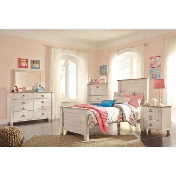 Naples Wood Panel Configurable Bedroom Set by Three Posts