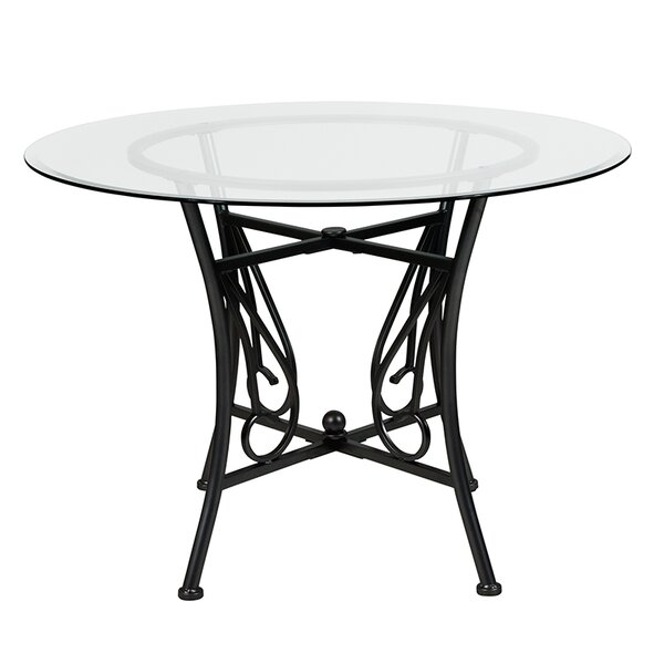 Velazquez Counter Height Dining Table by Fleur De Lis Living