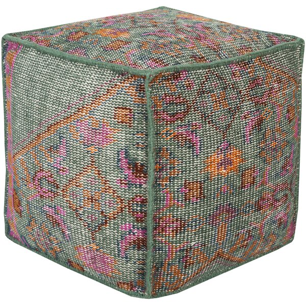 Damascus Pouf by Bungalow Rose