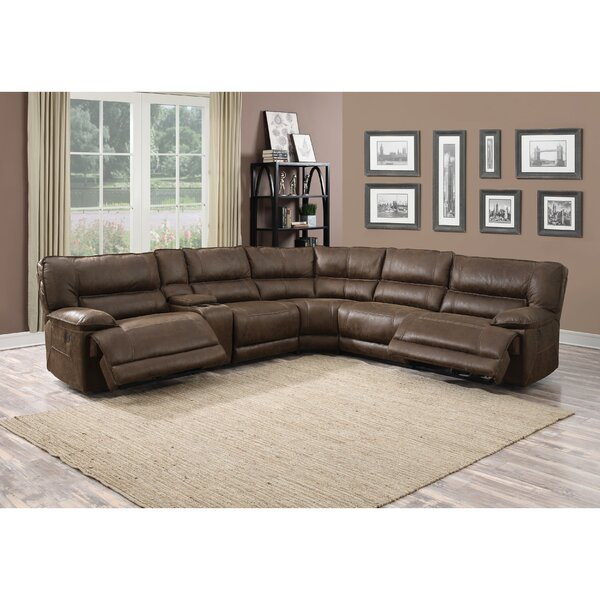 Laub Karma Symmetrical Reclining Sectional by Ebern Designs