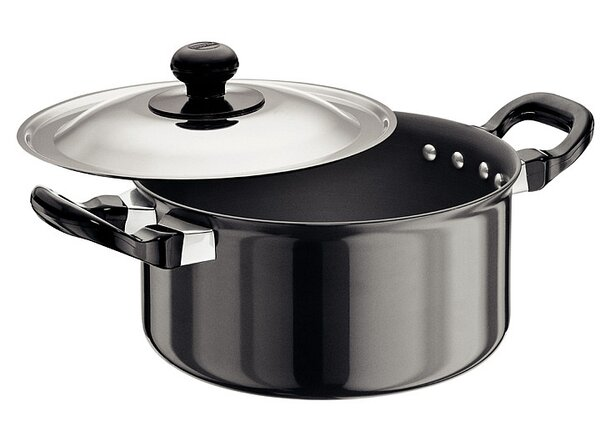 Hard Anodised Cook and Serve Stewpot by Futura