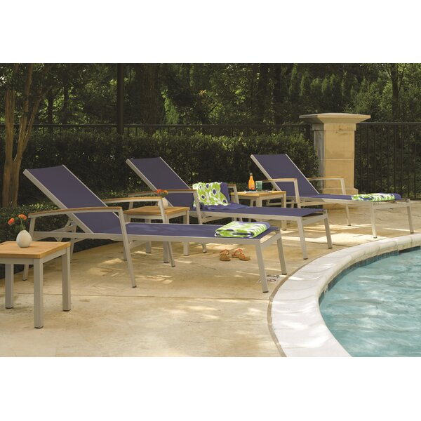 Caspian Sun Chaise Lounge (Set of 2) by Sol 72 Outdoor Sol 72 Outdoor