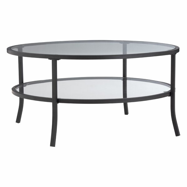 Laurel Foundry Jackson Round Coffee Table With Storage