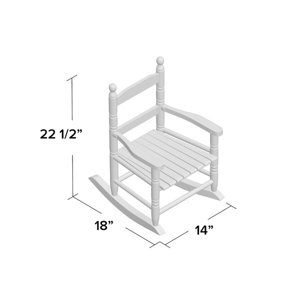 Ronald Slat Childu0027s Rocking Chair