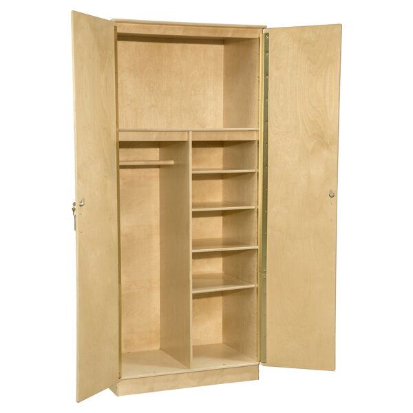 Contender Mobile Wardrobe Armoire by Wood Designs