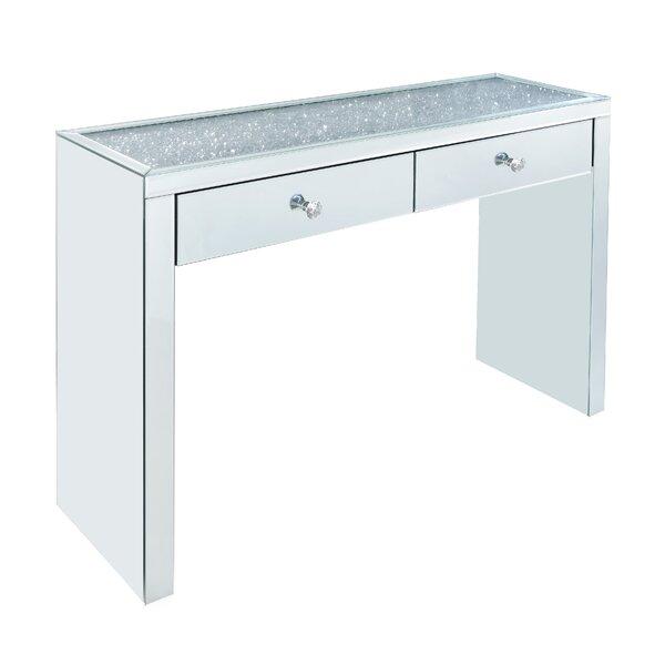 Rosdorf Park Glass Console Tables