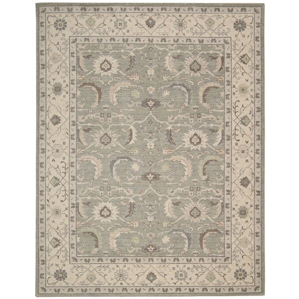 Deeksha Green Tea Area Rug by Ophelia & Co.