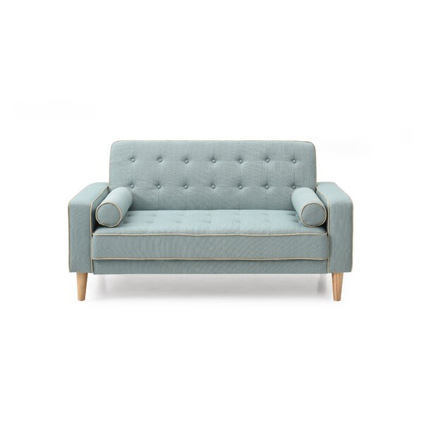 Shayne Convertible Loveseat by Ivy Bronx