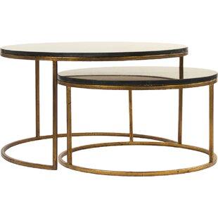 Cheri Coffee Table Set (Set of 2) Zentique