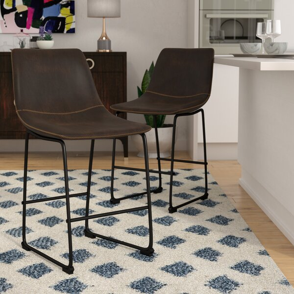 Amendola 25.5 Bar Stool (Set of 2) by Mercury Row