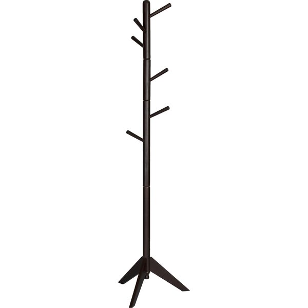 Freestanding Wood Coat Rack by Zipcode Design