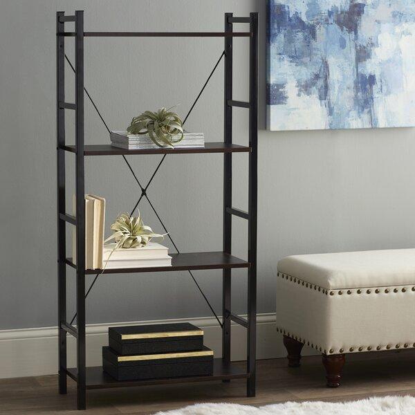 Dark Walnut Etagere Bookcase by Zipcode Design