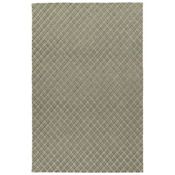 Tahsha Modern Hand Tufted Wool Grey Area Rug by Gracie Oaks