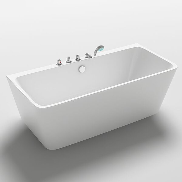 Iseo 67 x 29.5 Freestanding Soaking Bathtub by Kokss