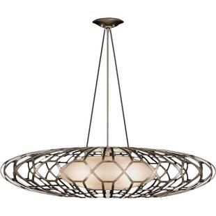 Allegretto Gold 3-Light Pendant by Fine Art Lamps