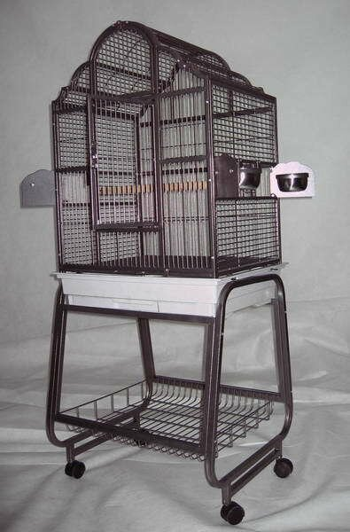 Victorian Bird Cage with Plastic Base by A&E Cage Co.
