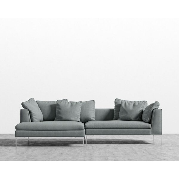Stone Sectional by Everly Quinn