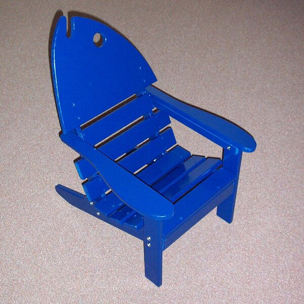 Junior Fish Wood Adirondack Chair by Prairie Leisure Design