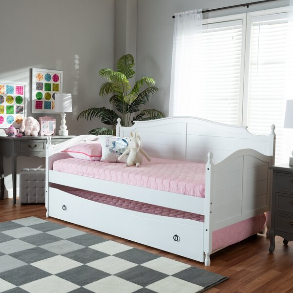 Review Chertsey Twin Daybed With Trundle