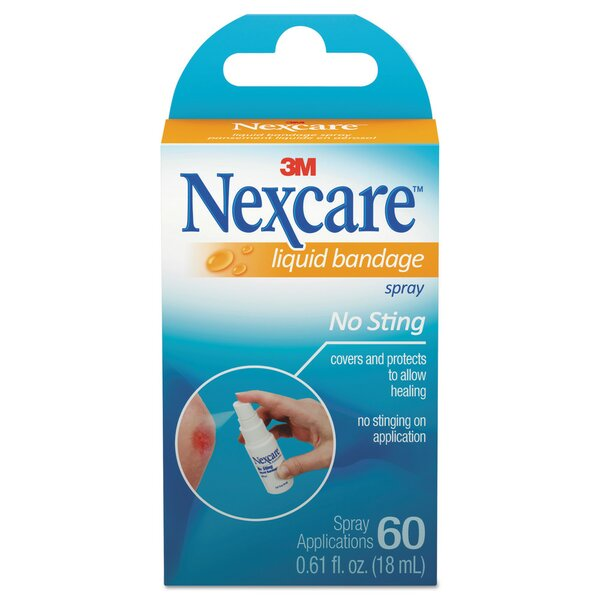 Nexcare No-Sting Liquid Bandage Spray by 3M