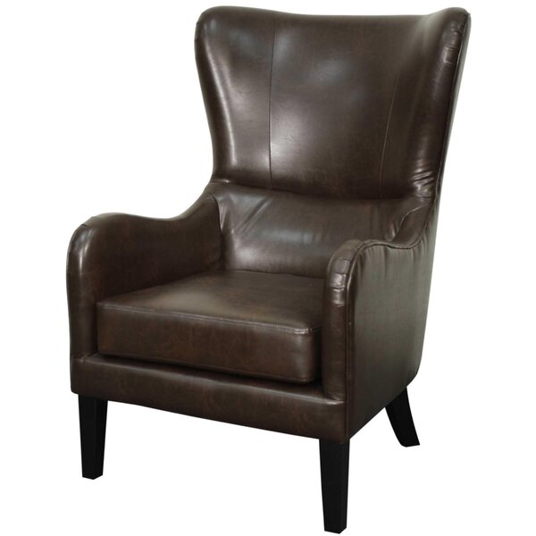 Thornley Wingback Chair by Union Rustic