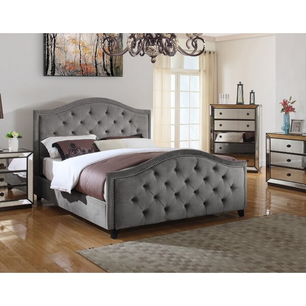 Lilly Upholstered Platform Bed By Canora Grey by Canora Grey Today Only Sale