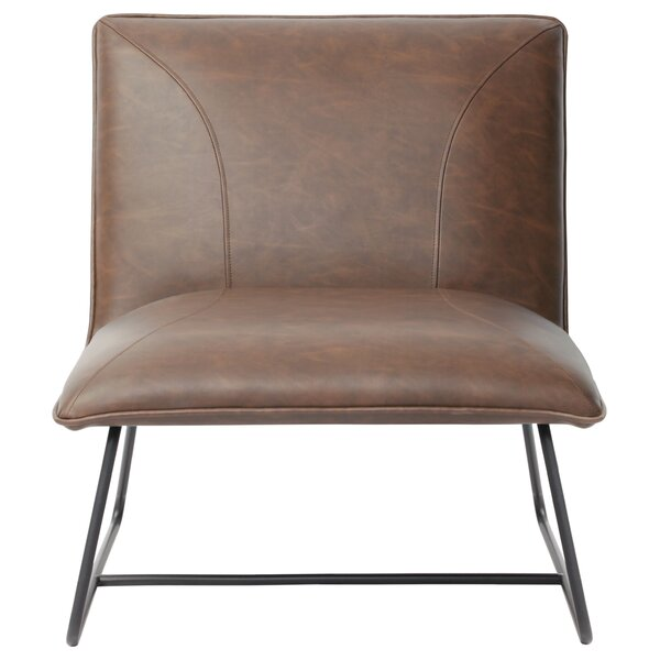 Jordan Armless Lounge Chair by Diamond Sofa