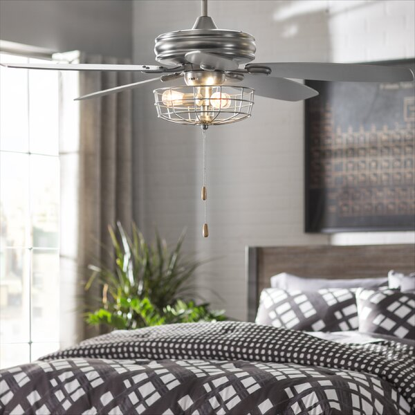 52 Kyla 5-Blade Ceiling Fan by Trent Austin Design
