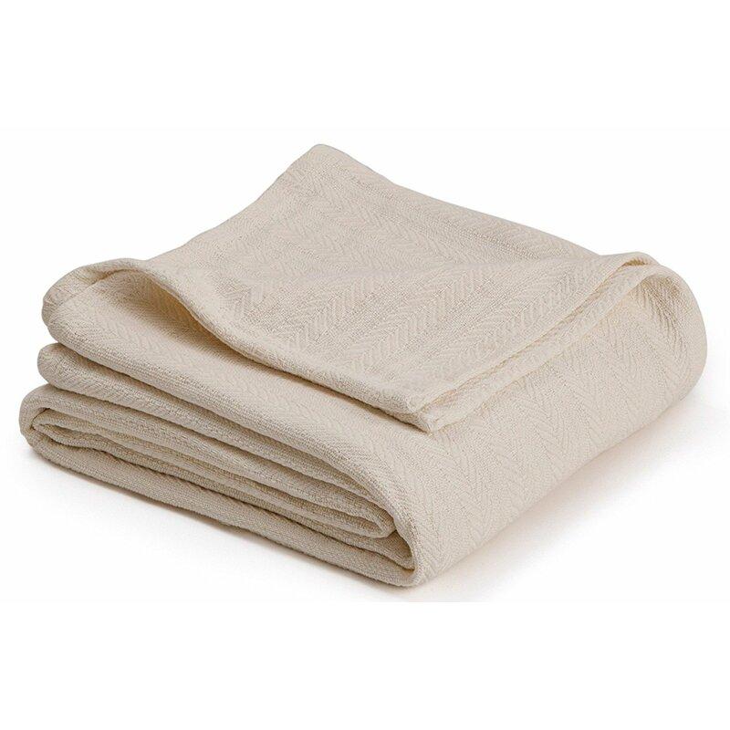 a1cb69fca3 Alwyn Home Elizabeth Super Soft Cotton Blanket   Reviews