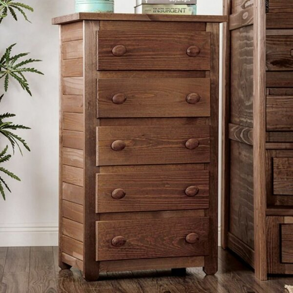 Ayaan 5 Drawer Dresser by Foundry Select