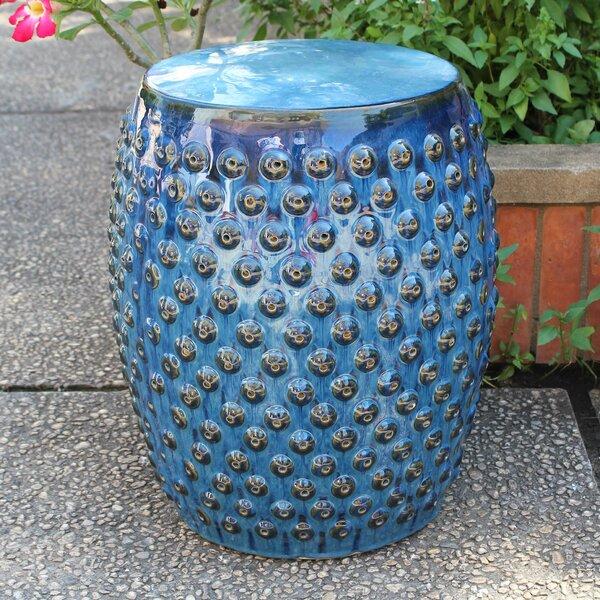 Hoddesd Drum Ceramic Garden Stool by Mistana