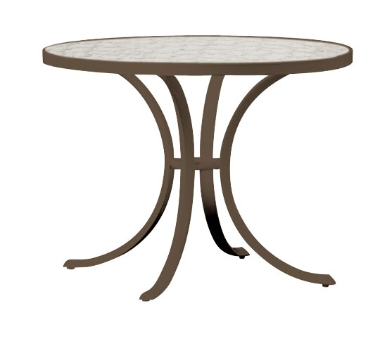 Valora Glass Dining Table by Tropitone