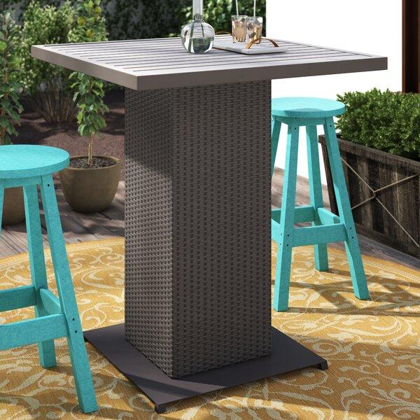 Tegan Wicker Bar Table by Sol 72 Outdoor