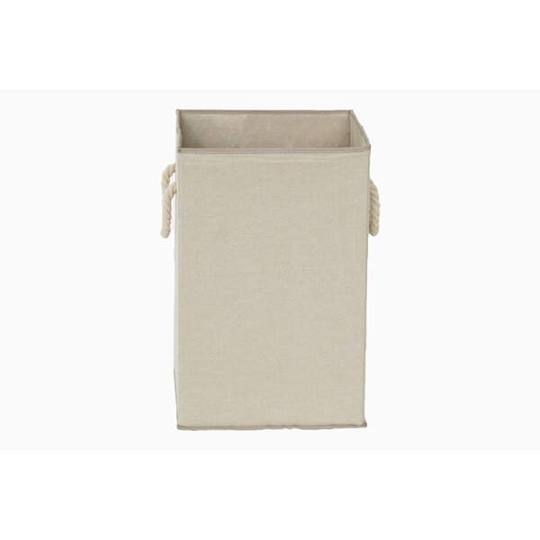 Fabric Folding Laundry Hamper by Highland Dunes