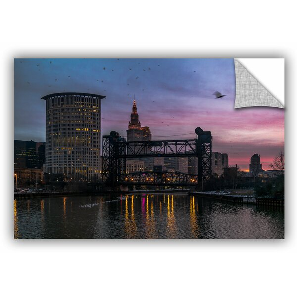 Mike Beach Cleveland 1 Wall Decal by ArtWall