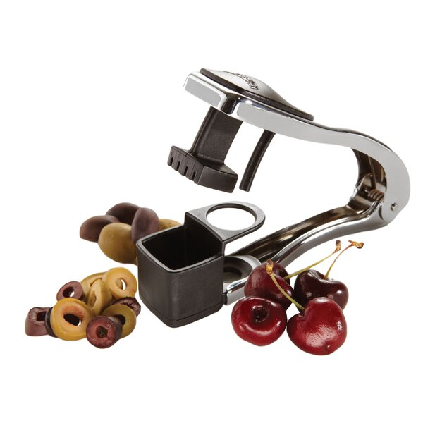 Cherry and Olive Pitter and Slicer by Amco Houseworks