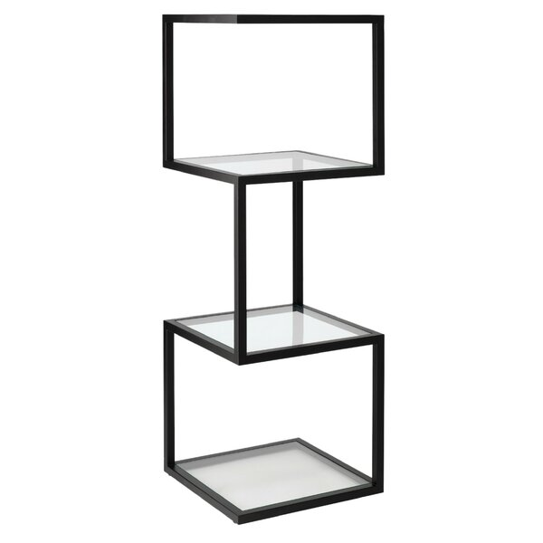 Floating Column Geometric Bookcases By Jamie Young Company