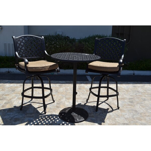 Amazing Nola 3 Piece Bar Set By Darby Home Co Spacial Price