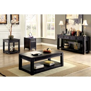 Xanthe 3 Piece Coffee Table Set Red Barrel Studio