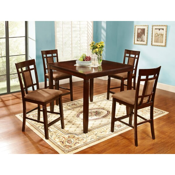 Bethanie 5 Piece Counter Height Dining Set by Winston Porter Winston Porter