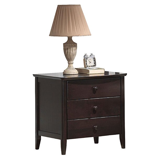 Semund 3 Drawer Nightstand by Winston Porter
