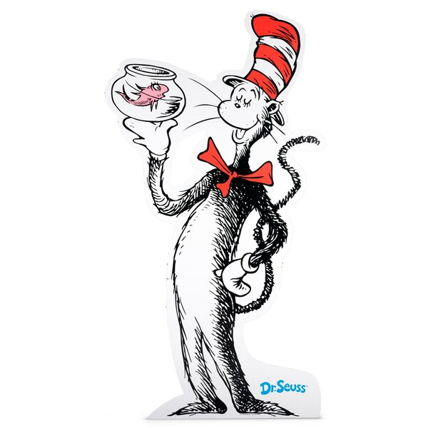 Dr. Seuss Cat in the Hat Standup by NA