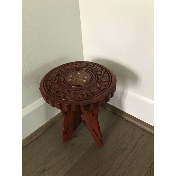 Folding End Table by Fuzion Home Decor