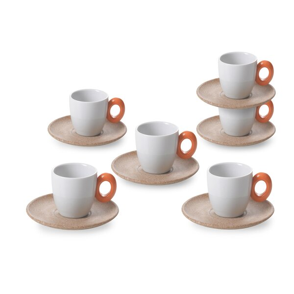 Omada Ecoliving Espresso Cup (Set of 6) by Lorren Home Trends