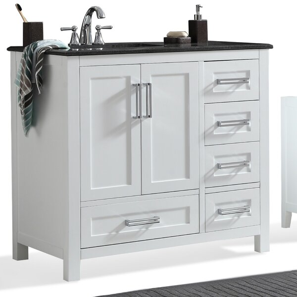 Evan 37 Single Bathroom Vanity Set by Simpli Home