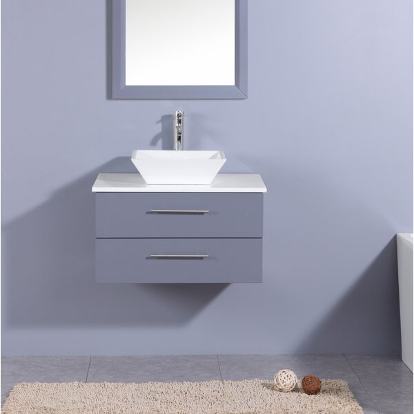 Juarez Modern 24 Single Bathroom Vanity Set by Orren Ellis