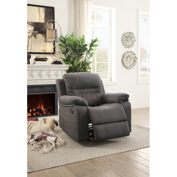 Niels Manual Glider Recliner by Darby Home Co